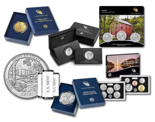 US Mint Products for June 2017