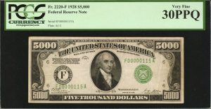 Stack's Bowers 2017 ANA US Currency Auction Highlights