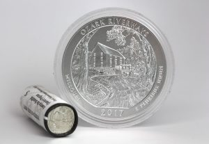 US Mint Sales: Ozark Riverways 5 Oz Coin Debuts