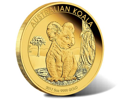 Australian Koala 2017 5oz Gold Proof Coin