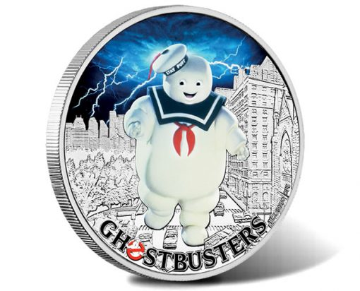 Ghostbusters - Stay Puft 2017 1oz Silver Coin