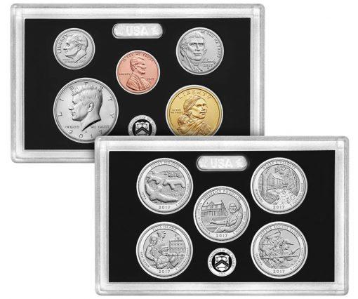 Lenses 225thAnniversary Enhanced Uncirculated Coin Set
