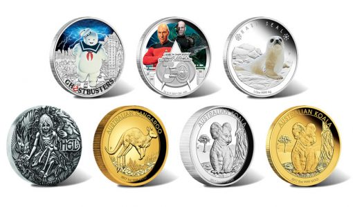 Perth Mint of Australia Collector Coins for August 2017