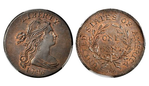 1796 S-92 Draped Bust Cent