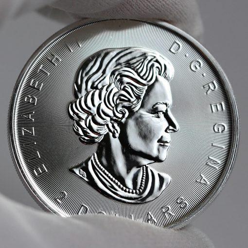 2017 $2 Canadian Silver Wolf Moon Bullion Coin - Obverse-1