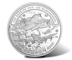2017 $20 Canadian Silver Coin Celebrates Bomber Command in WWII