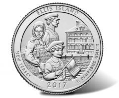 Ellis Island Quarter Ceremony, Coin Exchange and Public Forum