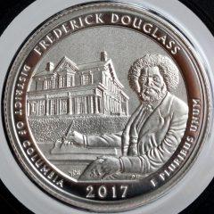 2017-S Enhanced Uncirculated Frederick Douglass Quarter - Reverse