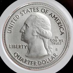 2017-S Enhanced Uncirculated George Rogers Clark Quarter - Obverse