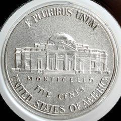 2017-S Enhanced Uncirculated Jefferson Nickel - Reverse