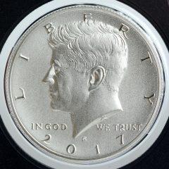 2017-S Enhanced Uncirculated Kennedy Half-Dollar - Obverse