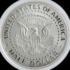 2017-S Enhanced Uncirculated Kennedy Half-Dollar - Reverse