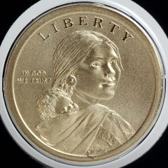 2017-S Enhanced Uncirculated Native American $1 Coin - Obverse