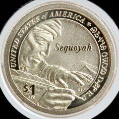 2017-S Enhanced Uncirculated Native American $1 Coin - Reverse