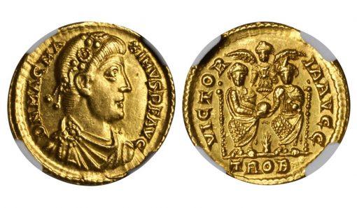 MAGNUS MAXIMUS, A.D. 383-388