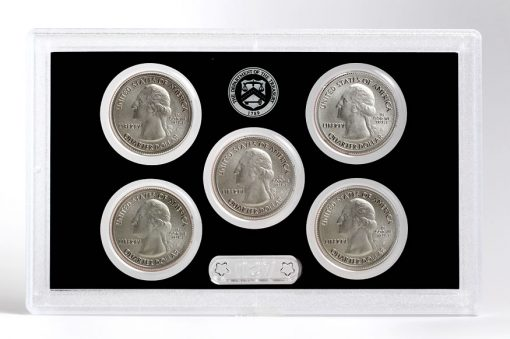 Obverses of Quarters in 2017-S Enhanced UncObverses of Quarters in 2017-S Enhanced Uncirculated Coin Setirculated Coin Set