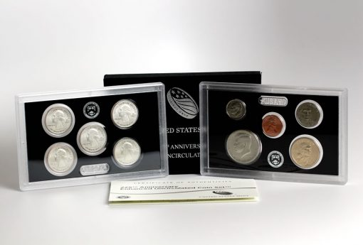 Packaging and Cert of 2017-S Enhanced Uncirculated Coin Set