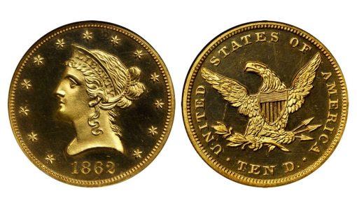 Proof 1862 Eagle