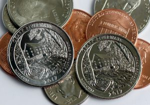 US Coins and Ozark Riverways Quarters