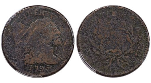 1795 S-79, B-9 Reeded Edge Cent