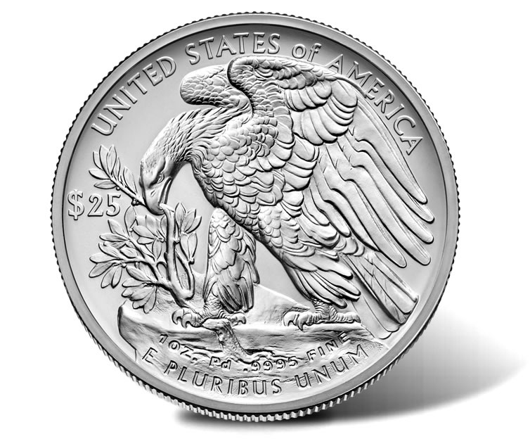 2017 25 American Palladium Eagle Images Coin News