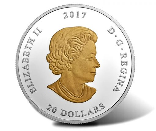 Canadian 2017 $20 From Sea To Sea To Sea Series Coin - Obverse