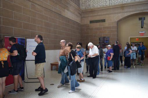 Ellis Island quarter exchange