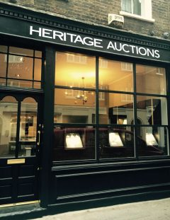 Heritage Auctions' London Office
