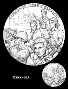 Medal Design OSS-O-06A