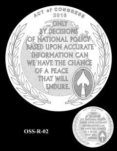 Medal Design OSS-R-02
