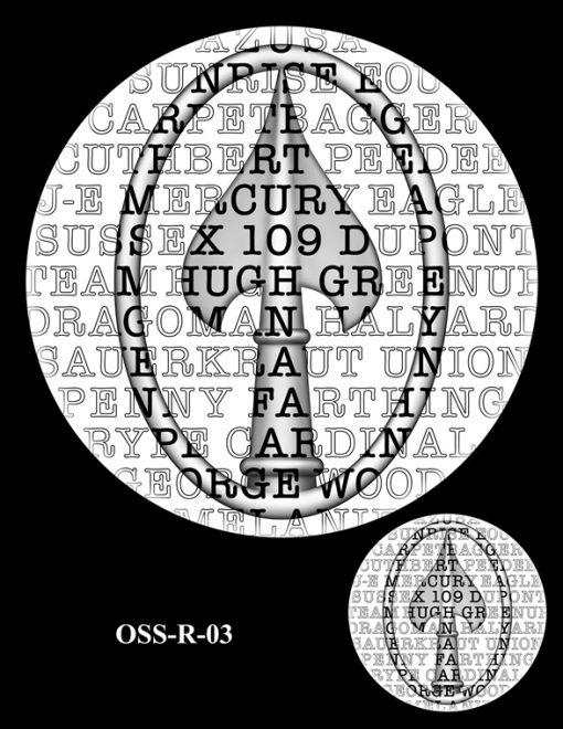 Medal Design OSS-R-03