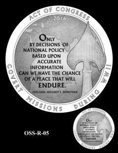Medal Design OSS-R-05