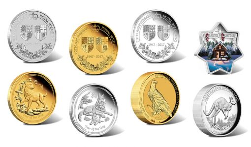 Perth Mint of Australia Collector Coins for September 2017