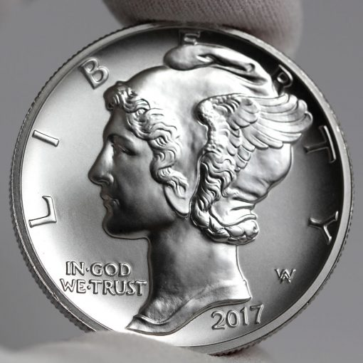 2017 $25 American Palladium Eagle Bullion Coin - Obverse