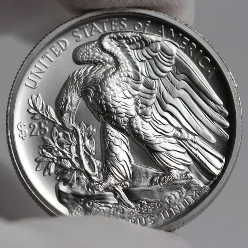 2017 $25 American Palladium Eagle Bullion Coin - Reverse
