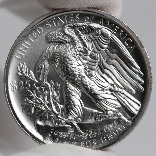 2017 $25 American Palladium Eagle Bullion Coin - Reverse-a