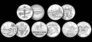 2018 WWI Centennial Silver Medal Designs