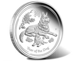 2018 Year of the Dog 1oz Silver Proof Coin