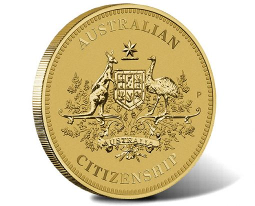 Australian Citizenship 2018 $1 Coin