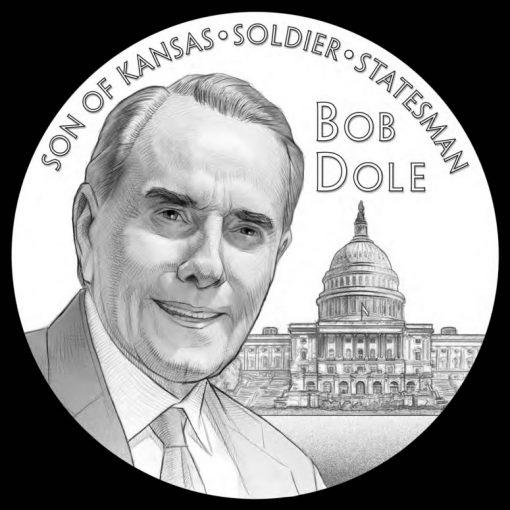 Bob Dole Congressional Gold Medal Design - Obverse