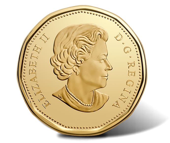 Canadian 2017 $1 100th Anniversary Toronto Maple Leafs Circulation Coin - Obverse