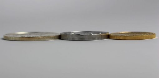 Edges of American Ealge Silver, Palladium and Gold Bullion Coins