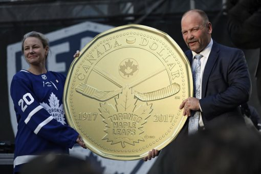 Maple Leafs $1 Coin Unveiling