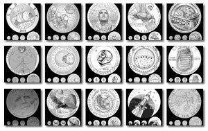 Obverse Apollo 11 Candidate Coin Designs