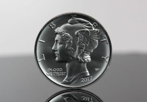 Photo of 2017 $25 American Eagle Palladium Bullion Coin (Obverse)