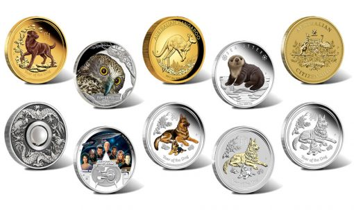 The Perth Mint of Australia Collector Coins for October 2017