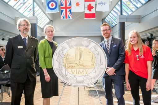Vimy Coin Launch Photo