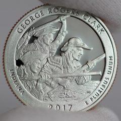 2017-S Clad Proof George Rogers Clark Quarter - Reverse