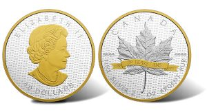 Canadian 2018 $15 Gold-Plated Coin Pays Tribute to SML
