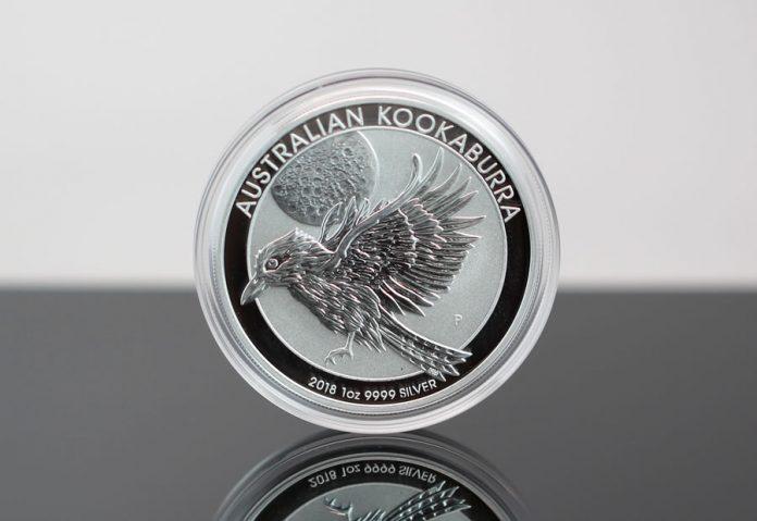2018 Australian Kookaburra 1oz Silver Bullion Coin